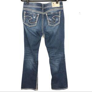 SILVER Suki bootcut jeans J3
